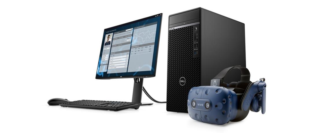 Dell OptiPlex 7080 Tower Desktop Intel Core i5-10500, 4GB DDR4, 1TB HDD, Intel Integrated Graphics, Ubuntu Linux - 7080-I5 5